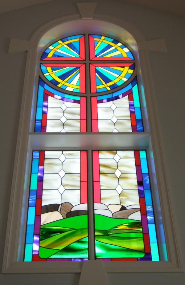 Stained Glass at Emerson Congregational UCC