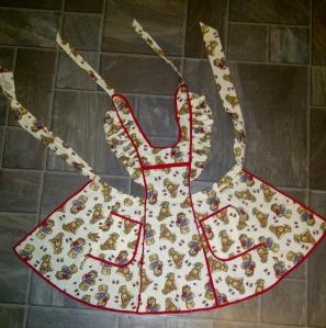 Handmade Teddy Bear Cobbler Apron